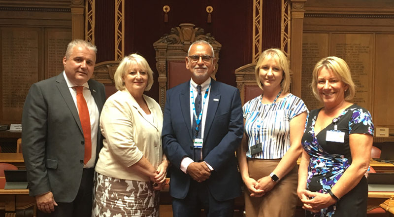 Bolton's health and social care organisations staff